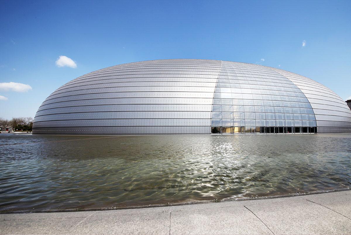 北京大剧院工程案例